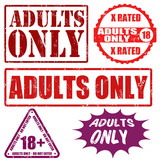 Adults only stamps