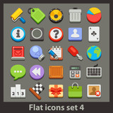 vector flat icon-set 4