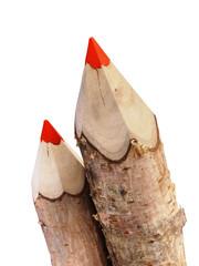 два карандаша