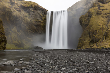 Skogafoss Waterfall, South Iceland
