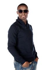 Handsome african man