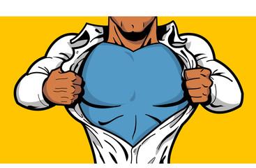 Black Superhero Chest