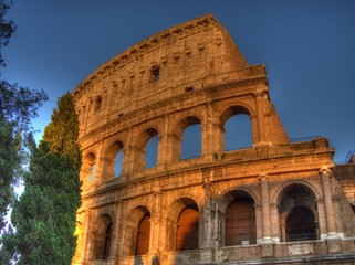Roma, il Colosseo (part.)