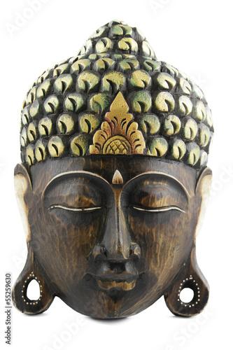 Buddha Holzmaske