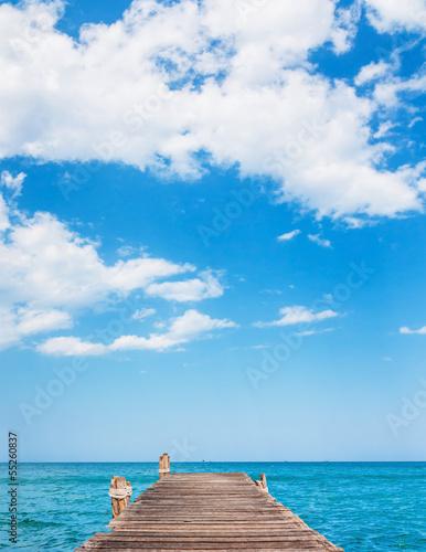 Fototapeten,strand,meer,thailand,pfeiler