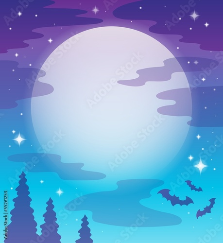 Image with night sky topic 1