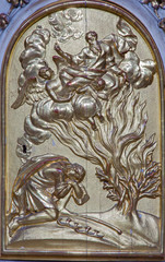Vienna - Relief of Moses and burning bush