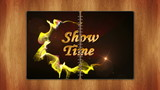 Show Time Gold Text in Book, Loop