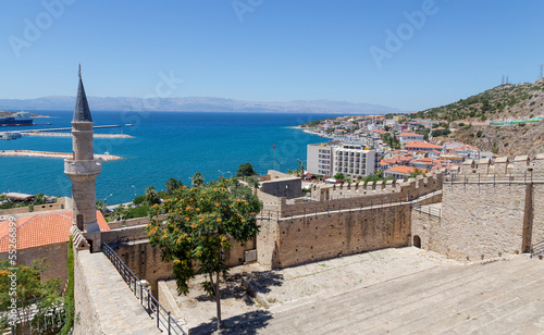 Foto op Canvas Turkey View of Cesme from the castle, Turkey