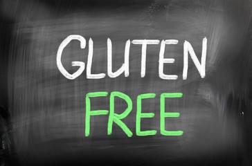 Gluten free diet concept