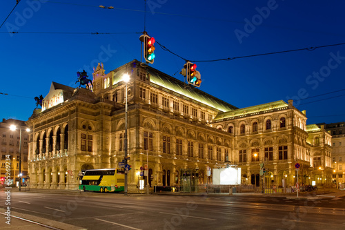 Viennas grand Opera House