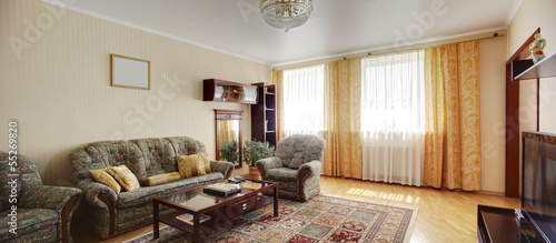 clean room in european style