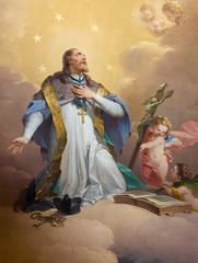 Vienna -  Paint of Saint John the Nepomuk
