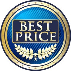 Best Price Blue Medal
