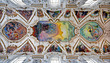 PALERMO - APRIL 8: Modern fresco of Last judgment by Frederico S