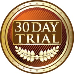 Thirty Day Trial Gold Medal