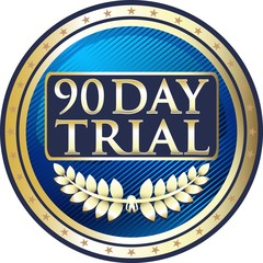 Ninety Day Trial Blue Medal
