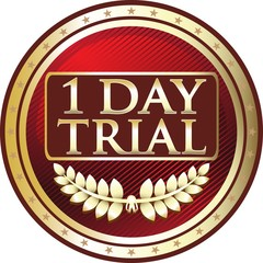 One Day Trial Red Medal