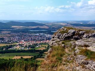 Aussicht Staffelberg Oberfranken