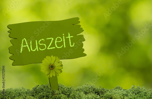 Auszeit im Grünem