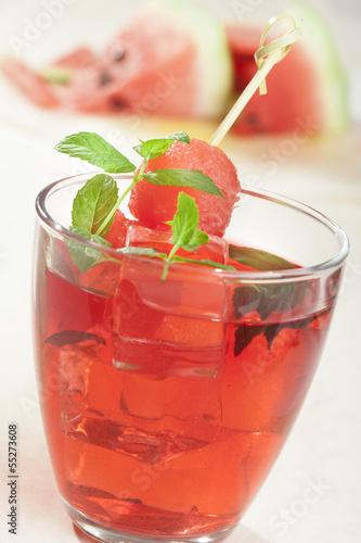 mojito cocktail - watermelon