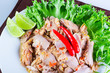 Thai spicy tuna
