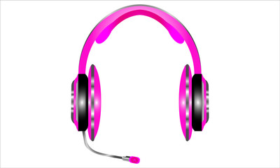 Pink Headphone, Earphones