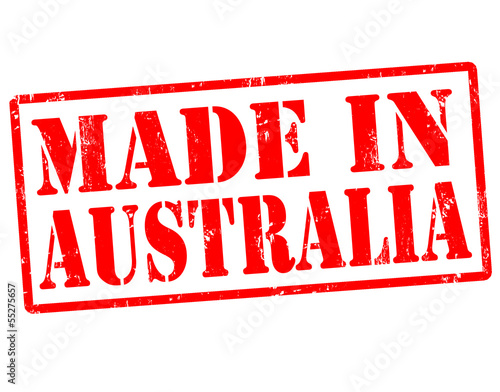 Made in Australia stamp
