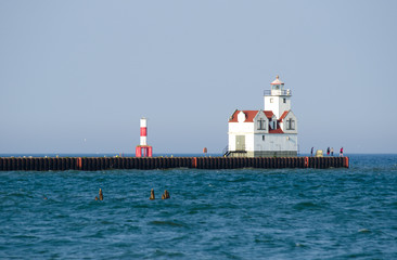 Kewaunee South Pierhead Lighthouse, Wisconsin