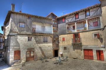 Medieval town: La Alberca of Salamanca, Spain.