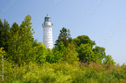 Foto op Canvas Grote meren Cana Island Lighthouse