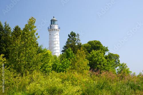 Fotobehang Grote meren Cana Island Lighthouse