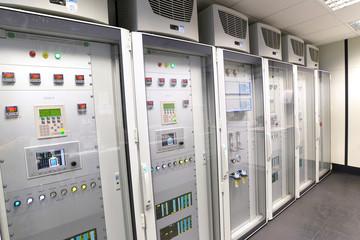 Schaltzentrale in einem Produktionswerk