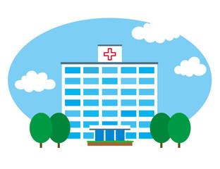 病院 青空