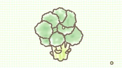 ブロッコリー食べる