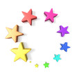 Colorful Lucky Star