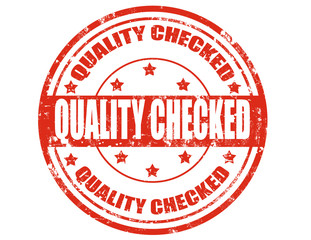Quality checked-stamp