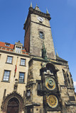 Prague Orloj, old clock machine