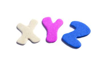 lettre XYZ