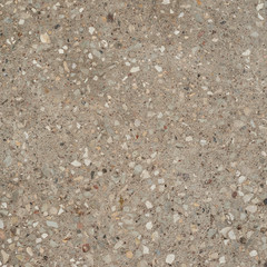 Concrete with stone chippings