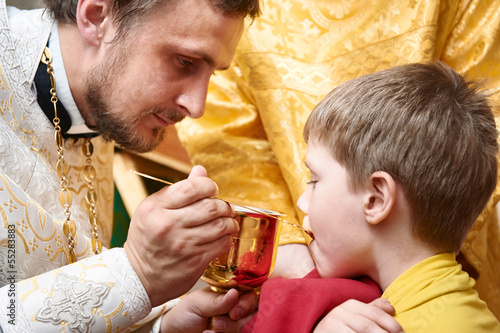 Orthodox ceremony of the Eucharist