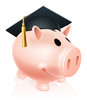 Mortar Board Piggy bank