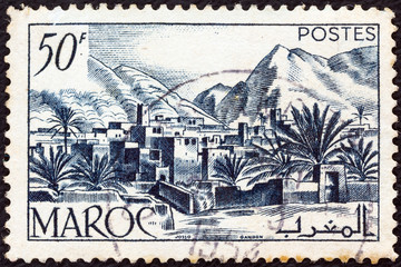 Todra Valley (French Morocco 1947)