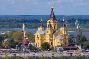 Saint Alexander Nevsky Cathedral in Nizhny Novgorod, Russia