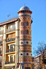 Madrid, Casa de las Bolas, neomudéjar madrileño