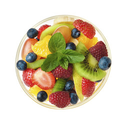 Sweet tasty fruit salad