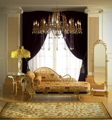 manufactured luxury decor  3d illustration