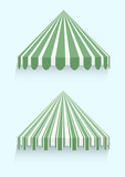 conical awnings