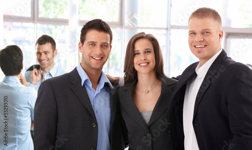 Portrait of successful business team