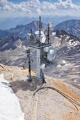 Wetterstation auf der Zugspitze